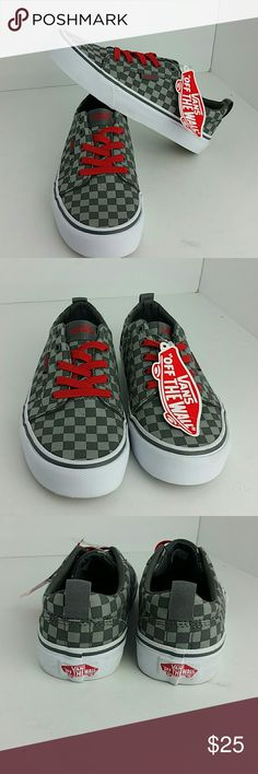 VANS YOUTH SNEAKERS NEW WITHOUT BOX   YOUTH SIZE 1  SKE # MK vans Shoes Sneakers