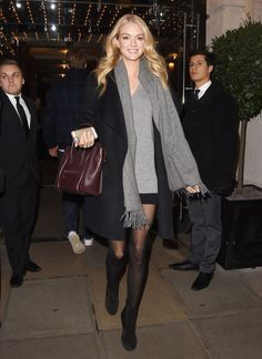 1. Lindsay Ellingson In London, England | The Most Fab And Drab Celebrity Looks Of The Week