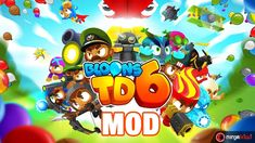 Bloons Tower Defense 6 (Part Tower Defense, Best Games, Fun Games, Apps, Ninja, Balloon Tower, Defense Games, Best Android Games, Purple Balloons