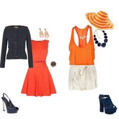 Orange looks