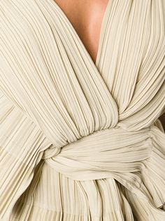 CHLOÉ - pleated knotted top 10