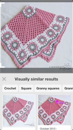 Heather baby blanket crochet