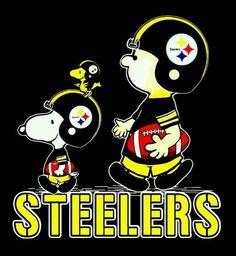 PITTSBURGH STEELERS~Snoopy ,Woodstock & Charlie Brown