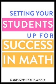 Developing math confidence within your students is possible with a little extra effort. 12 tips and ideas for building math confidence. Math Classroom Decorations, Classroom Tools, Classroom Resources, Classroom Management, Classroom Ideas, Build Math, Algebra Worksheets, First Year Teaching, Common Core Math Standards