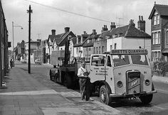 Norman Rye in Wincheap, Canterbury, Kent - Canterbury Kent, Canterbury Cathedral, Road Transport, Classic Trucks, Rye, Historical Photos, Buses, Old Photos, Norman