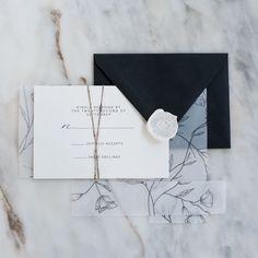 Stamptitude | Foliage Wax Seal #wedding #stationery #details