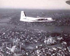 Istanbul üzerinde bir uçak (1956) #istanbul #istanlook