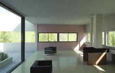 Villa savoye windows