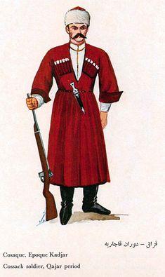 The Persian Regular Army, 19th Century, by Aleksandr Kibovskii and Vadim Yegorov