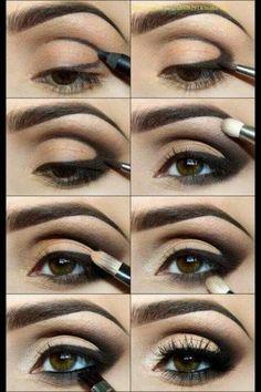 Zwarte oogschaduw