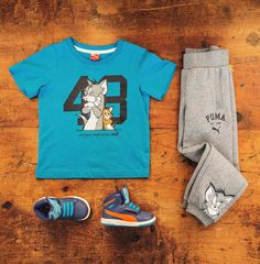 Head to toe style   PUMAxTom and Jerry