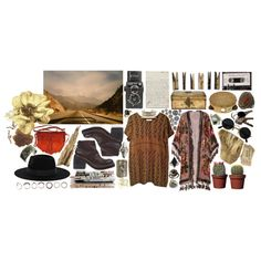 """Gold : : Wake Owl"" by hippierose on Polyvore"
