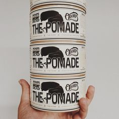 Such a cool label for O'Douds Pomade
