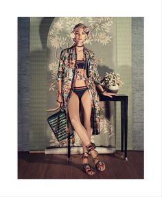 Vittoria Ceretti fronts Zara's spring-summer 2018 campaign