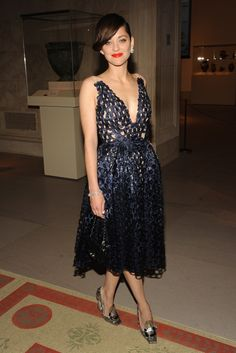 Marrion Cotillard in Christian Dior haute couture [Photo by Steve Eichner]