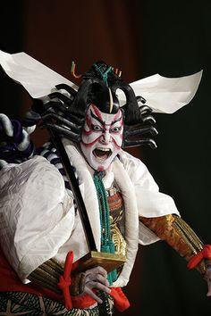 Aragoto style of kabuki