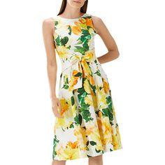 BuyCoast Harrison Print Cotton Blend Dress, Multi, 16 Online at johnlewis.com