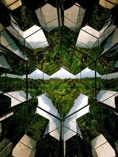 """Olafur Eliasson's """"Viewing Machine"""" at Inhotim in Brumadinho, Minas Gerais (Brazil)"""