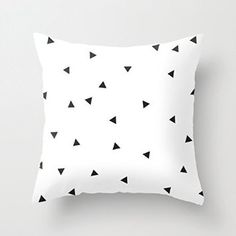 Mini triangles Geometric Throw Pillows for Sofa Pillow Cover Decorative with Zip