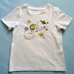 Camiseta Space en mitbaby shop Mens Tops, T Shirt, Painting, Fashion, Templates, Sew, Products, T Shirts, Drawings