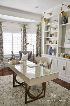 Sita Montgomery Interiors: Sita Montgomery Interiors: My Home Office Makeover Reveal