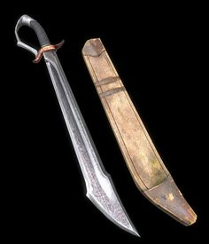 Concept Weapons, Armor Concept, Swords And Daggers, Knives And Swords, Arsenal, Zombie Weapons, Dungeons And Dragons Characters, Forged Knife, Cool Knives