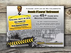 20 best retirement party flyers images retirement party