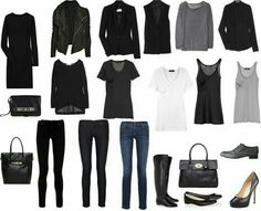 Minimalism Attire, Uniform the-simple-student | Like the visual, but article not that useful