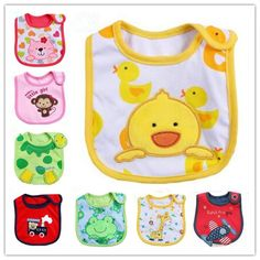cotton  baby bibs waterproof infant bibs for girl /boy