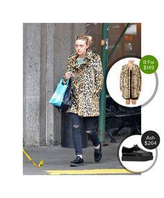 Dakota Fanning out in New York City #ash  #dakotafanning #cheetah #print @dejamoda