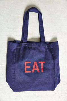 Urban Renewal Remade Take Along Lunch Tote Bag