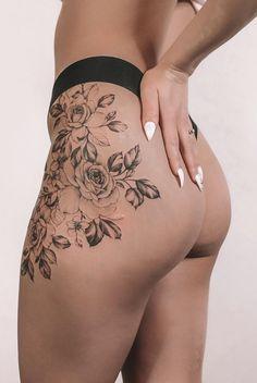Key Tattoos, Skull Tattoos, Foot Tattoos, Tribal Tattoos, Sleeve Tattoos, Female Tattoos, Tatoos, Rose Tattoo On Hip, Flower Tattoo Foot