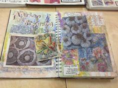 Sketchbook pages, sketchbook ideas, artist sketchbook, art journal pages,. A Level Art Sketchbook, Sketchbook Layout, Textiles Sketchbook, Artist Sketchbook, Sketchbook Pages, Sketchbook Inspiration, Art Journal Pages, Art Pages, Sketchbook Ideas