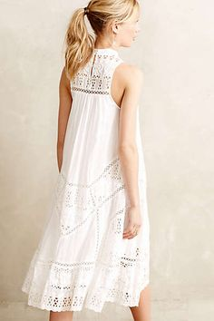 Anthropologie - Porcelain Panel Maxi Dress