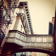 """Staple St. Alley Skybridge"" —derosa_is_dead"