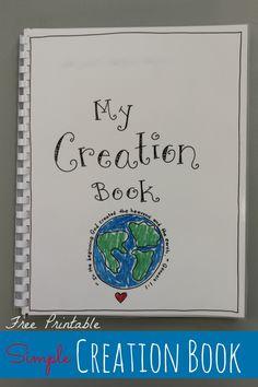 Creation Book � FREE Printable!