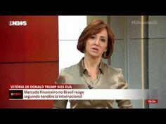 ELEIÇÃO de TRUMP SURPREENDEU o MERCADO FINANCEIRO, diz Thais Herédia GloboNews – Jornal GloboNews