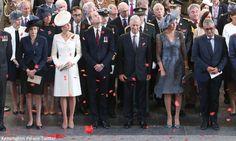 Duchess Kate: The Cambridges Join Belgian Royals to Mark the Centenary of Passchendaele