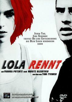 Lola rennt. 1998  Wiki Run Lola Run (German: Lola rennt, literally Lola Runs) is a 1998 German film, written and directed by Tom Tykwer and starring Franka Potente as Lola and Moritz Bleibtreu as Manni.