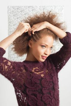Natural Hairstyles - Textured Hair Holiday Tutorials talk about face