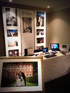 Yesterday's stand at the wedding fair