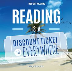 """""""Reading is a discount ticket to everywhere""""   #reading #kids #education…"""