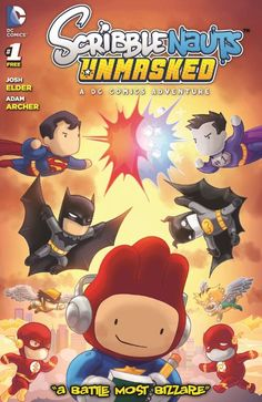 It was only just announced by both Warner bros. Interactive and DC Entertainment today that people who purchase the newest Scribblenauts game, Scribblenauts Unmasked: A DC Comics Adventure, will also be given a limited-time only, exclusive and free gift in the form of an original DC Comic.