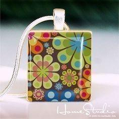 love scrabble tile necklaces!