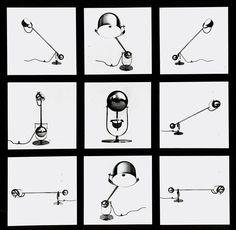 Sergio Asti Airone lamp, c. 1977