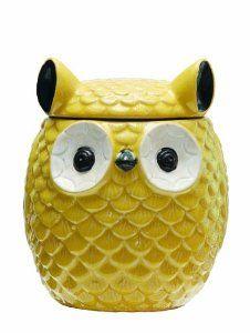 AMAZON Owl cookie Jar $20