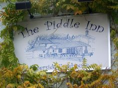 Sign for the Piddle Inn by Miss Steel, via Geograph