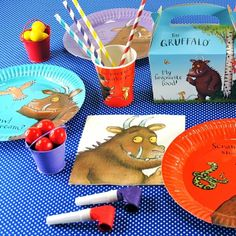 The Party Cupboard : The Gruffalo Party Supplies : The Gruffalo Party Tableware : www.thepartycupboard.com.au