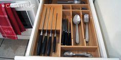 Kitchen drawer organizer | Organizador para cajón de cubiertos