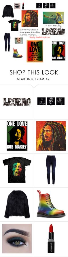 """""""Bob Marley ❤️❤️"""" by handlethisstyle ❤ liked on Polyvore featuring WithChic, Too Faced Cosmetics and Smashbox"""